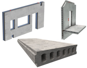 Prefabricated components